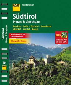 ADAC Wanderführer Südtirol, Meran & Vinschgau plus Gratis-Tour- App
