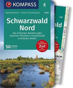 KOMPASS Wanderführer Schwarzwald Nord, Die schönsten Wanderungen zwischen Pforzheim, Freudenstadt und Baden-Baden, m. 1