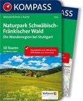 Naturpark Schwäbisch-Fränkischer Wald, Die Wanderregion bei Stuttgart, m. 1 Karte