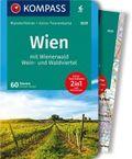 KOMPASS Wanderführer Wien mit Wienerwald, Wein- und Waldviertel, m. 1 Karte