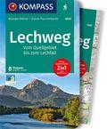 Kompass Wanderführer Lechweg - Vom Quellgebiet bis zum Lechfall, m. 1 Karte