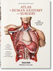 Bourgery. Atlas of Human Anatomy and Surgery - Atlas d' anatomie humaine et de chirurgie