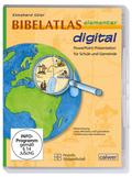 Bibelatlas elementar digital, 1 CD-ROM
