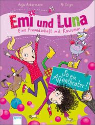 Emi und Luna. Eine Freundschaft mit Kawumm - So ein Affentheater!