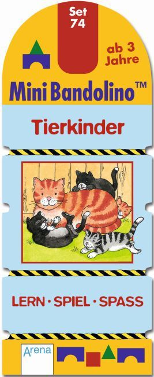 MiniBandolino (Spiele): Tierkinder (Kinderspiel); Set.74