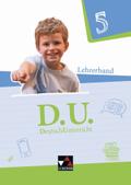 D.U. - DeutschUnterricht: 5. Schuljahr, Lehrerband, m. CD-ROM