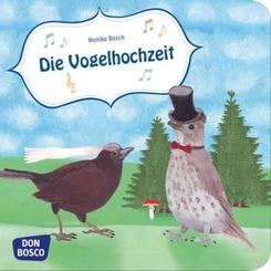 Die Vogelhochzeit, Mini-Bilderbuch