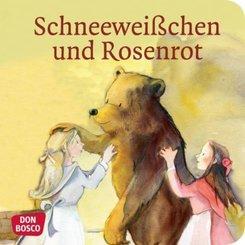 Schneeweißchen und Rosenrot, Mini-Bilderbuch