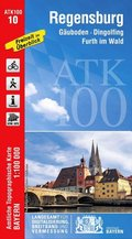 Amtliche Topographische Karte Bayern Regensburg