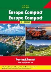 Freytag & Berndt Atlas Europa Compact; Freytag & Berndt Road Atlas Europe Compact