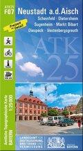 Amtliche Topographische Karte Bayern Neustadt a. d. Aisch