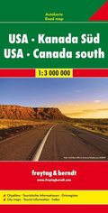 Freytag & Berndt Autokarte USA, Kanada Süd; USA, Canada South