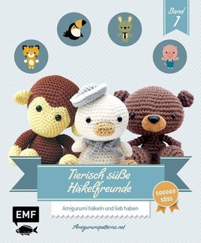 Tierisch süße Häkelfreunde - Bd.1