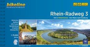Bikeline Radtourenbuch Rhein-Radweg - Tl.3