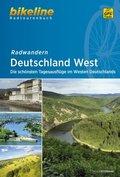 Bikeline Radtourenbuch Radwandern Deutschland West