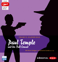 Paul Temple und der Fall Conrad, 1 MP3-CD