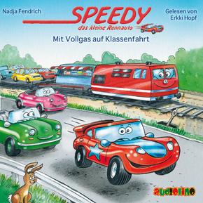 Speedy, das kleine Rennauto: Mit Vollgas auf Klassenfahrt, 1 Audio-CD
