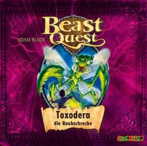Beast Quest: Toxodera die Raubschrecke, 1 Audio-CD