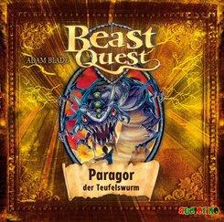 Beast Quest, Paragor der Teufelswurm, 1 Audio-CD