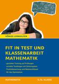 Fit in Test und Klassenarbeit - Mathematik 5./6. Klasse Gymnasium