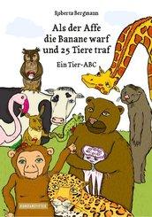 Als der Affe die Banane warf und 25 Tiere traf