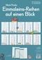 Einmaleins-Reihen auf einen Blick, 12 farbige Poster DIN A3