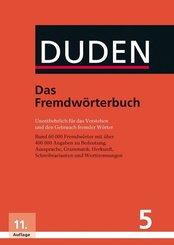 Der Duden: Das Fremdwörterbuch; Bd.5