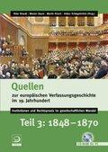 Quellen zur europäischen Verfassungsgeschichte im 19. Jahrhundert, CD-ROM - Tl.3