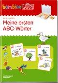 bambinoLÜK-Übungshefte: Meine ersten ABC-Wörter
