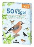 50 heimische Vögel entdecken & bestimmen