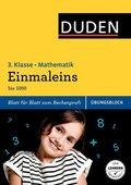 Duden Einfach klasse in Mathematik, Übungsblock: Einmaleins, 3. Klasse