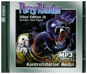 Perry Rhodan Silberedition - Kontrollstation Modul, remastered, 2 MP3-CDs