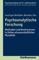 Psychoanalytische Forschung