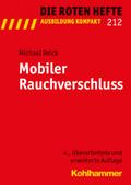 Die Roten Hefte: Mobiler Rauchverschluss; Nr.212
