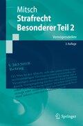 Strafrecht, Besonderer Teil: Strafrecht, Besonderer Teil 2; Bd.2/1 - Tl.1