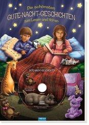 Die schönsten Gute-Nacht-Geschichten, m. Audio-CD