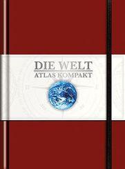 Die Welt - Atlas kompakt, rot