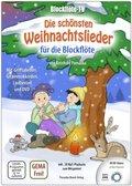 Blockflöte-TV: Die schönsten Weihnachtslieder für die Blockflöte, m. 1 DVD