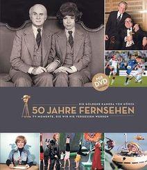 50 Jahre Fernsehen. Die Goldene Kamera von Hörzu, m. DVD
