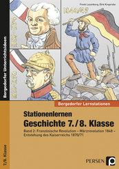 Stationenlernen Geschichte 7./8. Klasse - Bd.2