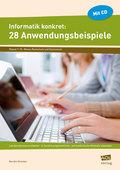 Informatik konkret: 28 Anwendungsbeispiele, m. CD-ROM