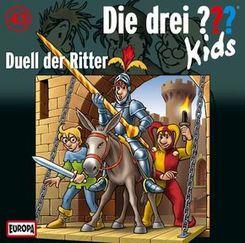 Die drei ???-Kids - Duell der Ritter, Audio-CD