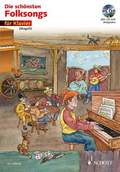 Die schönsten Folksongs, für Klavier, m. Audio-CD