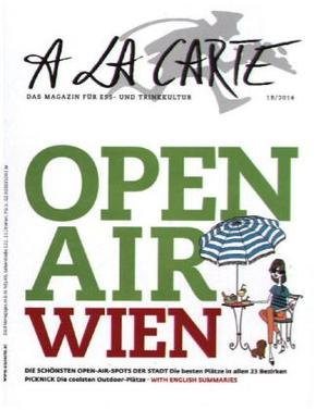 A la carte Open Air Wien