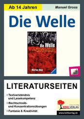 """Morton Rhue """"Die Welle"""", Literaturseiten"""