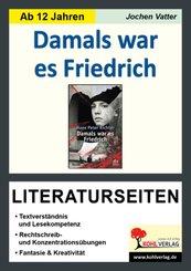 """Hans Peter Richter """"Damals war es Friedrich"""", Literaturseiten"""