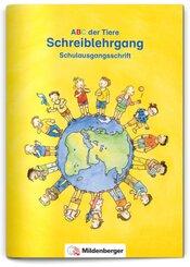 ABC der Tiere, Ausgabe Bayern: 1./2. Jahrgangsstufe, Schreiblehrgang Schulausgangsschrift zu Lesen in Silben (Silbenfibel®)