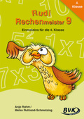 Rudi Rechenmeister: Einmaleins für die 4. Klasse; Bd.9