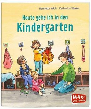 Heute gehe ich in den Kindergarten