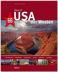 Best of USA, Der Westen - 66 Highlights